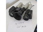 Lot: 7 - (3) Sony Survailence Camera & Adapters