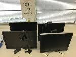 Lot: 25 - (4) Dell Monitors