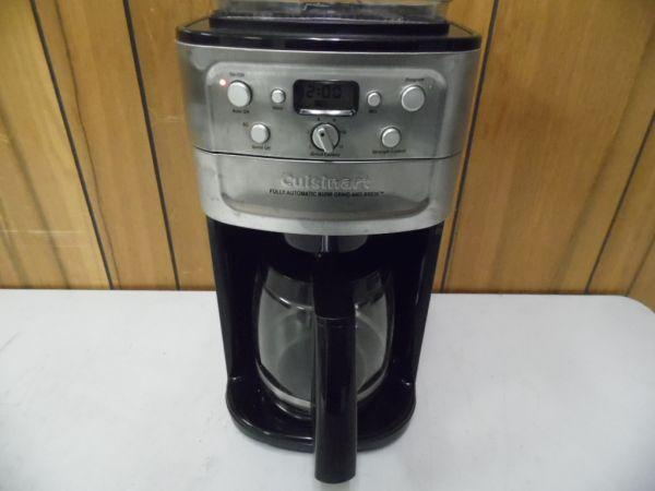 LSO Auctions - Lot: A5709 - Working Cuisinart Stainless Coffee Maker (Item 1074424240)