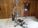 Lot: A5663 - Marcy Platinum Complete Home Gym