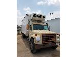 Lot: SC3-200 - 1987 IHC S-1900, Box Truck with Reefer/Lift