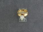 Lot: 2791 - 14K DIAMOND RING