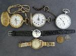 Lot: 2827 - WATCHES & SILVER TOKEN