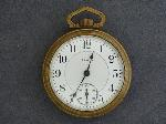 Lot: 2828 - ELGIN POCKET WATCH - FATHER TIME