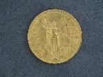 Lot: 2841 - 1925 50 PESOS MEXICAN GOLD COIN