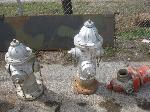 Lot: 46 - (3) Fire hydrants
