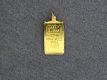 Lot: 2857 - CREDIT SUISSE 2.5G GOLD PENDANT