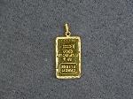 Lot: 2858 - CREDIT SUISSE 2.5G GOLD PENDANT