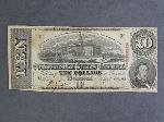 Lot: 2883 - CONFEDERATE STATES OF AMERICA $10 BILL