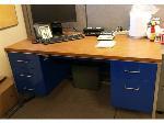 Lot: 2 - (4) Metal Office Desks