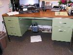 Lot: 3 - Metal Office Desk