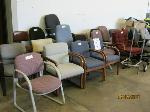 Lot: 09 - (23) Office Chairs & Caddy