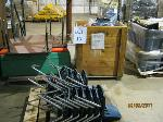 Lot: 13 - (2) Tables, (11) Kid Chairs, (2) Mats & Christmas Décor