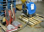 Lot: 17 - (2) Vacuum Cleaners, Floor Machine & Dryer