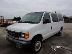 Lot: 114.DALLAS - 2003 FORD E350 VAN