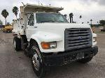 Lot: 120.PHARR - 1997 FORD F800 DUMP TRUCK