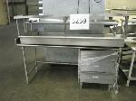 Lot: 5259 - STAINLESS STEEL SERVING LINE