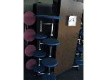 Lot: 5289 - (3) LUNCH ROOM TABLES