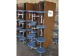 Lot: 5291 - (4) LUNCH ROOM TABLES