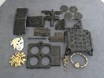 Lot: 2969 - ELGIN WATCH, LAPEL PINS & STERLING PIN