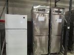 Lot: A-6 - Refrigerator & (2) Rethermalization Cabinets