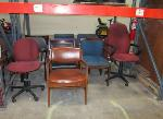 Lot: F-1&2 - Chairs, Printers, Monitors