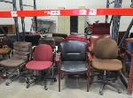 Lot: F-3 - Chairs, Computers, Switch, Scanner
