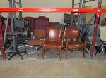 Lot: F-5 - Chairs, Telephones, Power Supply, Surge Protectors