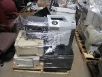 Lot: F-6 - Chairs, Computer Monitors, Printers, CPUs