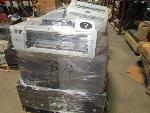 Lot: F-7 - Chairs, Computer CPUs, Fax, Printers