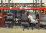 Lot: F-11 - Chairs, Computer CPUs, Monitors