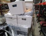 Lot: G-6 - Chairs, Printer Parts, Computer Keyboards, Network Cards