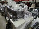 Lot: G-11 - (6) Chairs & (11) Printers