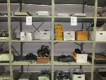 Lot: H-3 - Computer Keyboards, Cables, Phones, Microfilm, Scanner