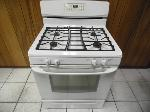 Lot: A5792 - Working GE Free Standing Gas Range Oven