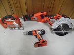 Lot: A5832 - 4 Black & Decker Firestorm Cordless Tools