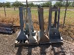 Lot: 162.CHILDRESS - (6) GUARDRAIL TERMINAL ENDS - NOT COMPLETE