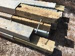 Lot: 166.CHILDRESS - (16) 73-INCH WOODEN POSTS