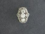 Lot: 3033 - PLATINUM DIAMOND RING