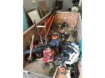 Lot: 12 - Pole Saws, Auger, Weed Eaters, Edgers & Lawn Equipment