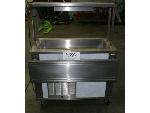 Lot: 980 - Refrigerated Cabinets, Salad Bar, Ice Maker