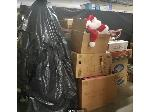 Lot: 43.PU - Christmas Tree, Garland, Santa Hats, Ornaments & Decorations