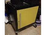 Lot: 53.PU - Small Cart On Wheels With Cubby