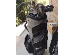 Lot: 77.PU - Nike Golf Bag  With Irons