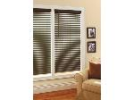 Lot: 52 - BROWN WINDOW BLINDS