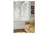 Lot: 113 - WHITE WINDOW BLINDS