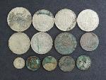 Lot: 3080 - (13) FOREIGN COINS