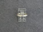 Lot: 3083 - 14K BAND RING