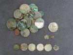 Lot: 3084 - 1853-O SEATED LIBERTY HALF DIME & FOREIGN COINS