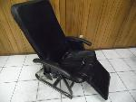 Lot: A5858 - Working Homedics Leather Massage Chair